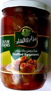 Cham farms makdous 600g