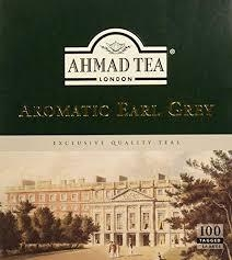 AHMAD TEA AROMATIC EARL GREY 100 sáčků