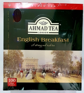 ahmad english breakfast tea 100 alu sáčků